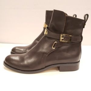 Mk Michael Kors size 6 brown leather ankle boots